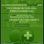 Charla en español sobre el sistema sanitario suizo y como vivir de forma sana
