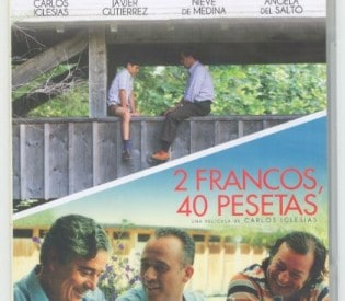 """Ya en un doble DVD: """"Un Franco…"""" y """"2 francos, 40 pesetas"""". Por solo 21 francos!!!"""