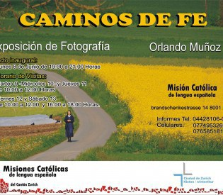 """Exposición de Fotografía: """"Caminos de Fe"""""""