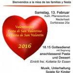 Fiesta de San Valentín en Niederhasli