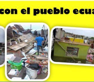 Terremoto en Ecuador: Mensaje de agradecimiento de Muisne-Ecuador