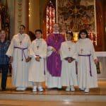 Acogida de nuestros nuevos monaguillos en St. Peter und Paul.