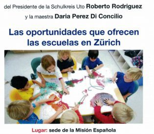 Plática que oportunidades ofrecen las escuelas en Zürich