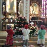 Misa por la Virgen de Fátima