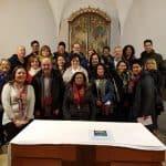 Cena de Navidad Representantes de los grupos de la Misión