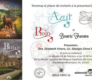 """Presentación de las novelas y cuento """"Las aventuras de Froilán"""" de Beatriz Fuentes"""