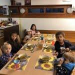 Kürbis Suppe en Kloten y Encuentro Niños Formación Cristiana