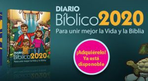 Venta de Diarios Bíblicos, Palabra y Vida 2020 y Biblias