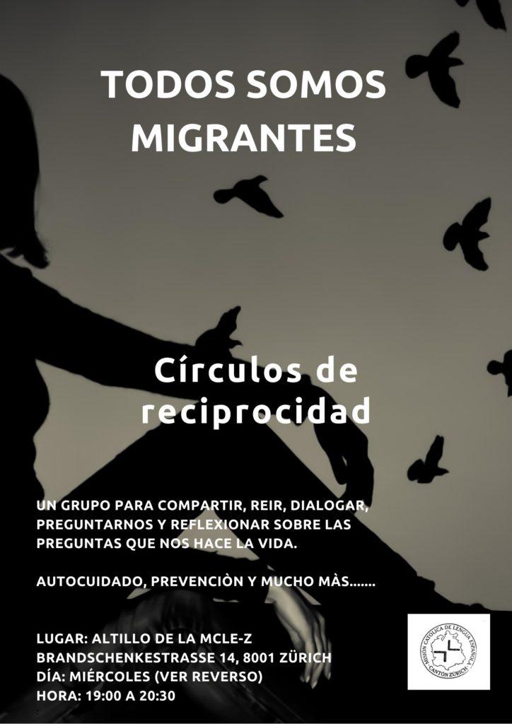 Círculos de Reciprocidad «Todos somos Migrantes»