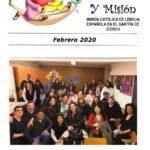 Febrero 2020 Hoja de Solidaridad y Misión