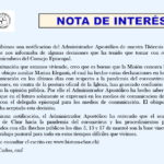De interés
