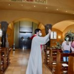 Domingo de Ramos en la iglesia de St. Anton